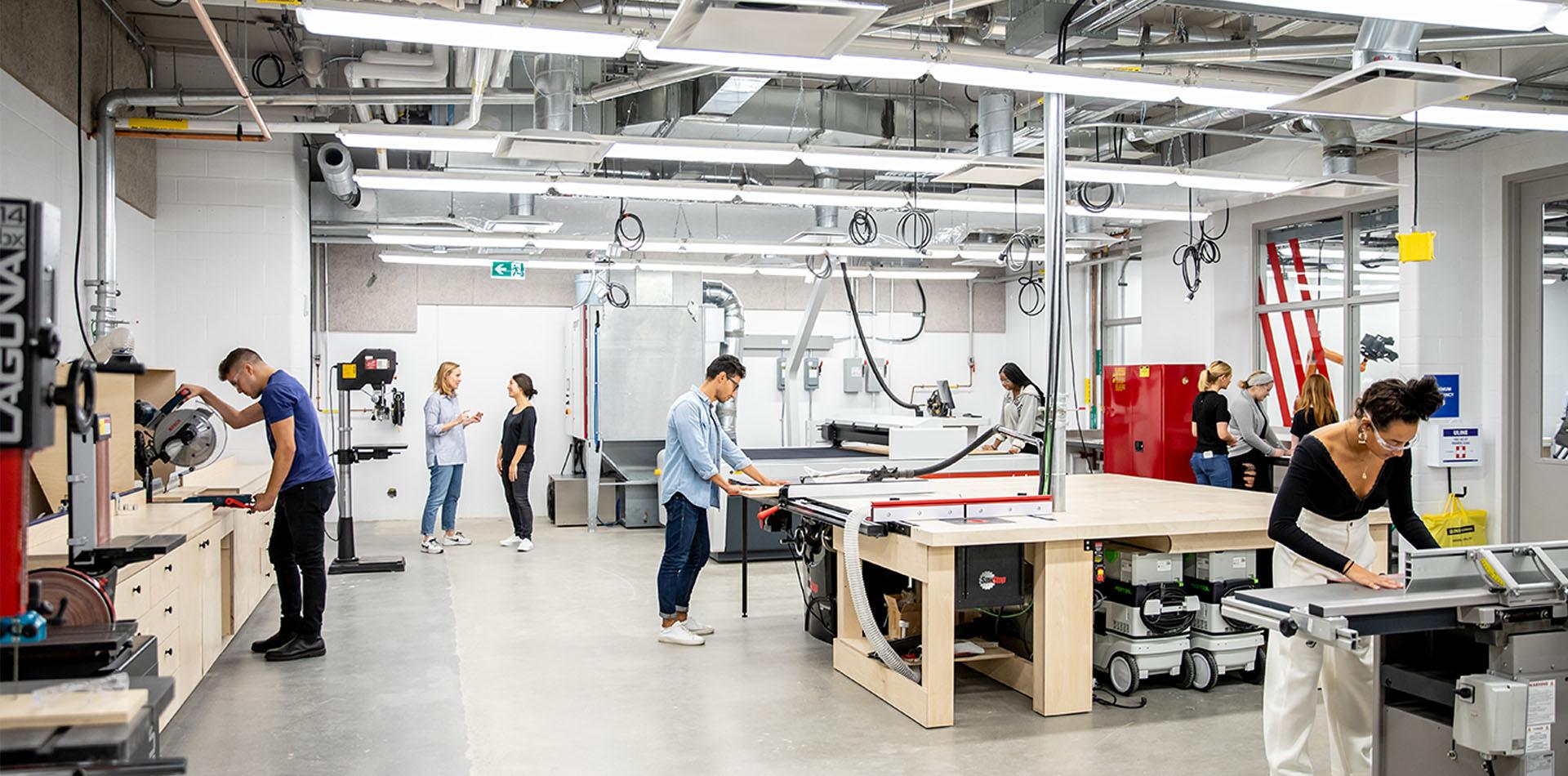 DesignTO Tours: Ryerson Creative Technology Lab
