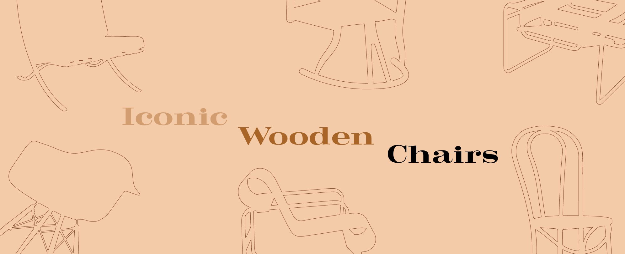 Iconic Wooden Chairs