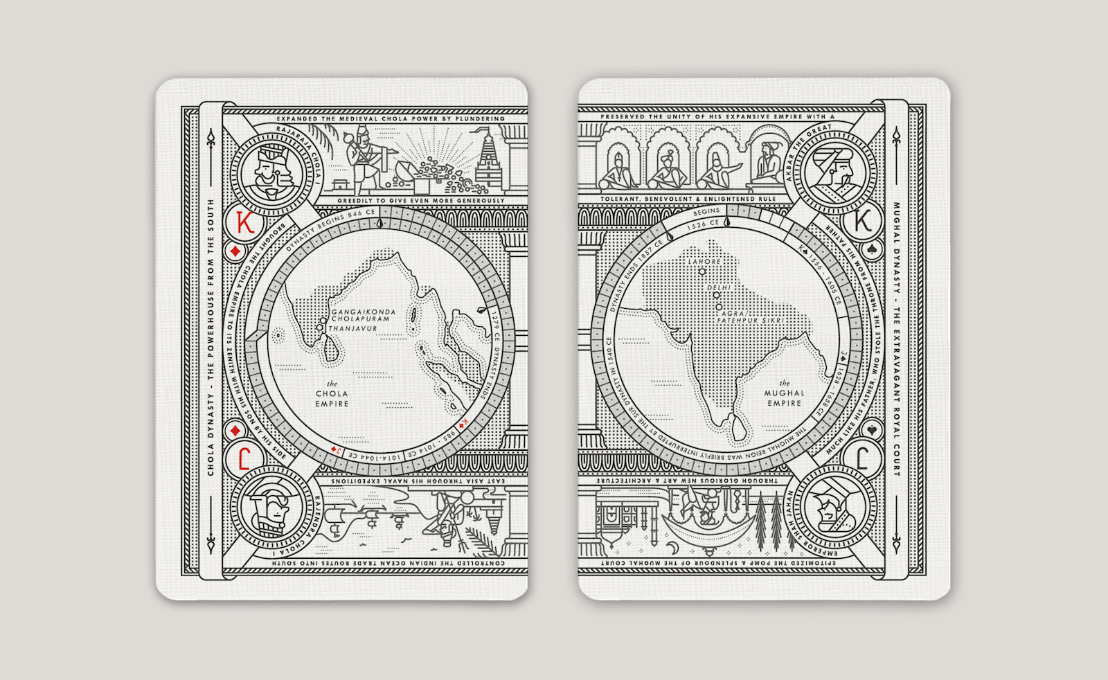 Kings of India Card Set