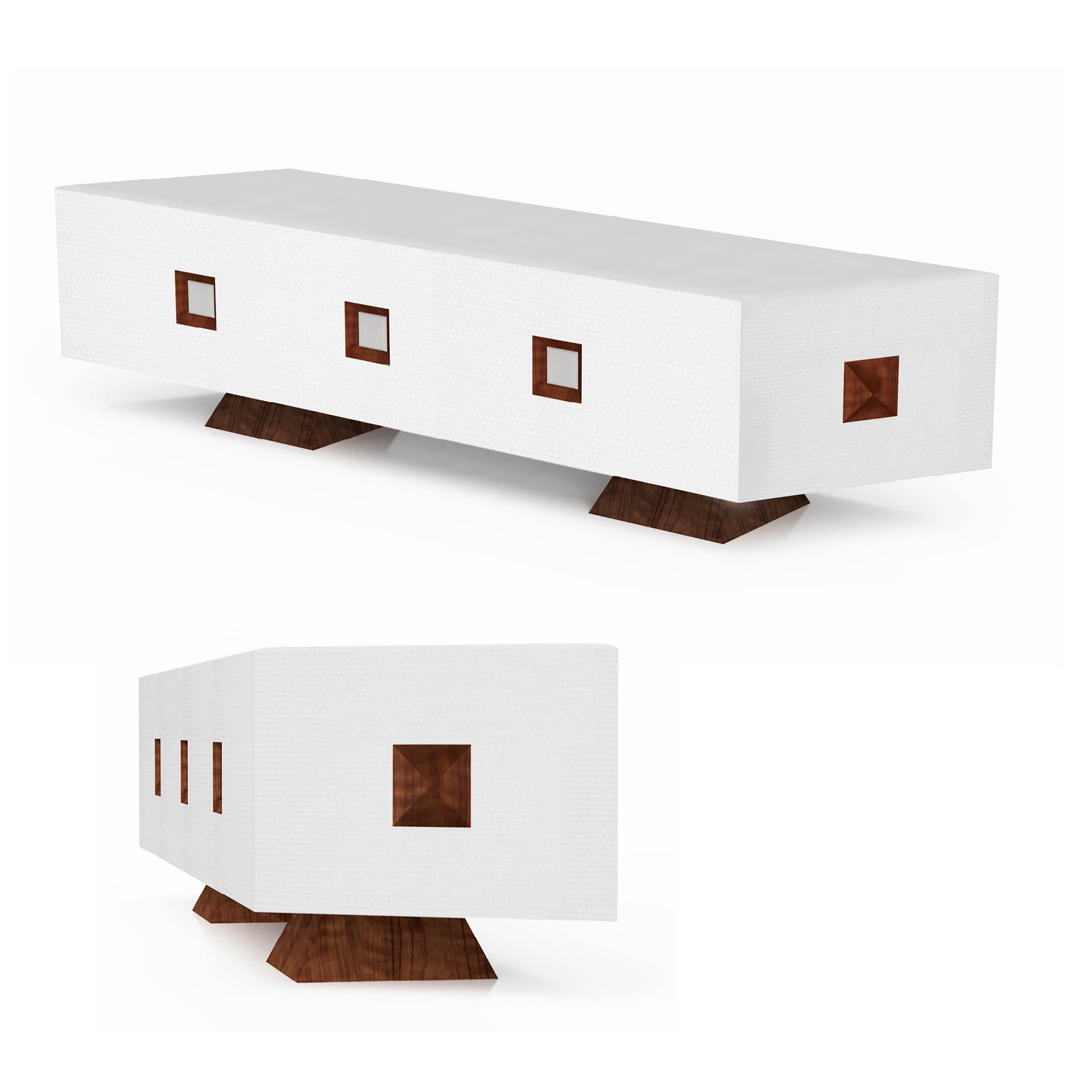 Night Drive Series: Furniture & Design Objects by Stoneface Co.