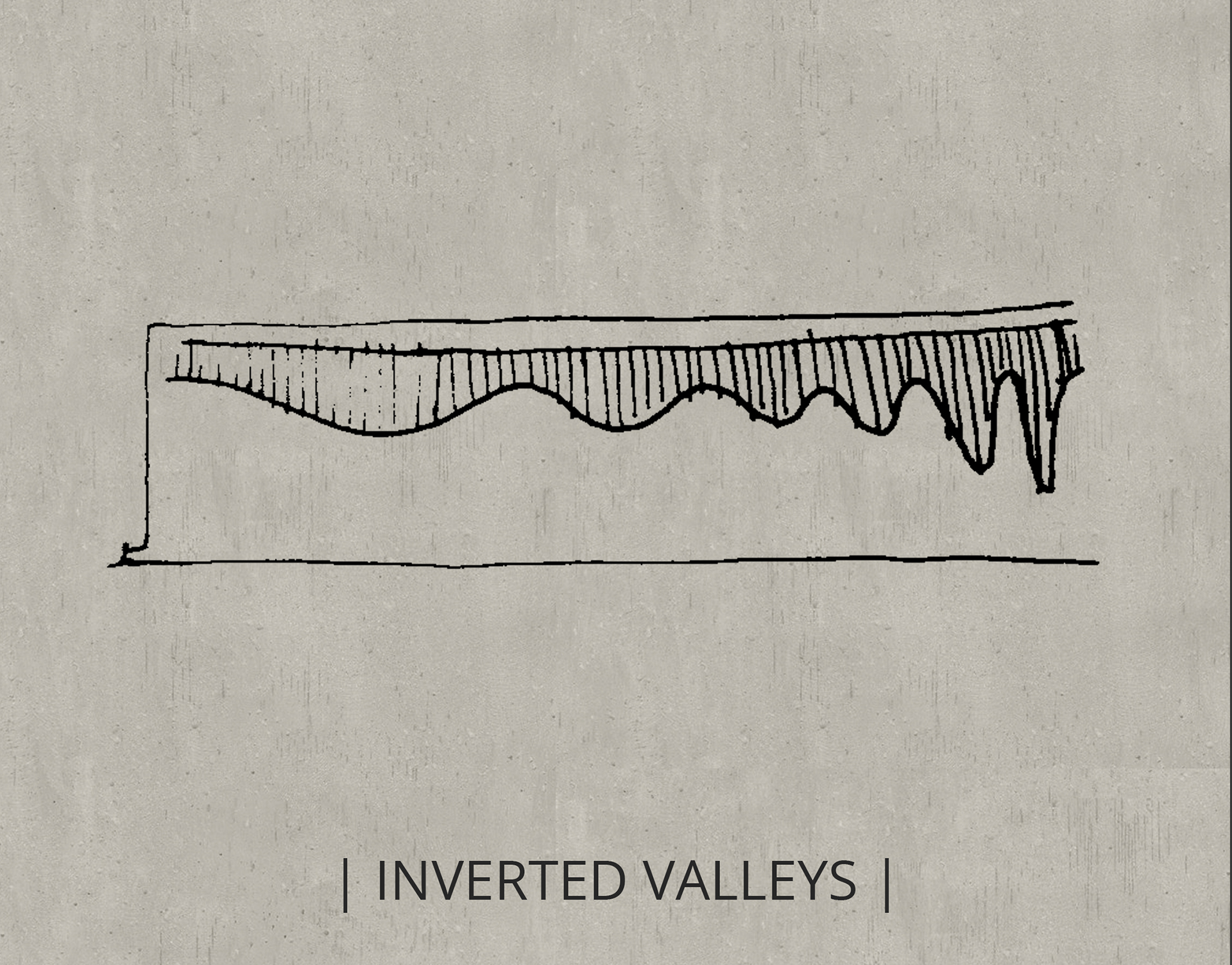 Inverted Valleys