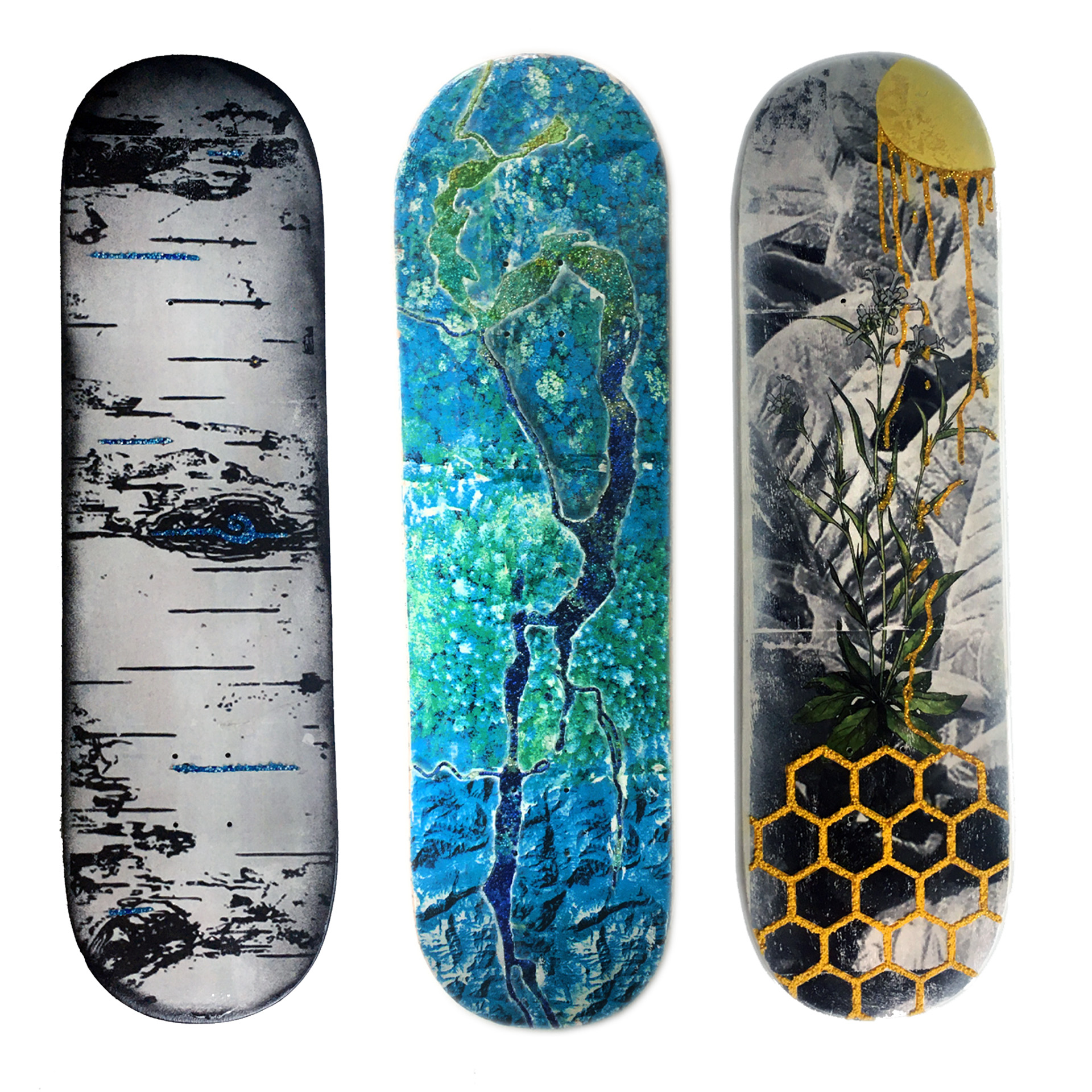 Land is Life: Oasis Skateboard Factory x Aura Last
