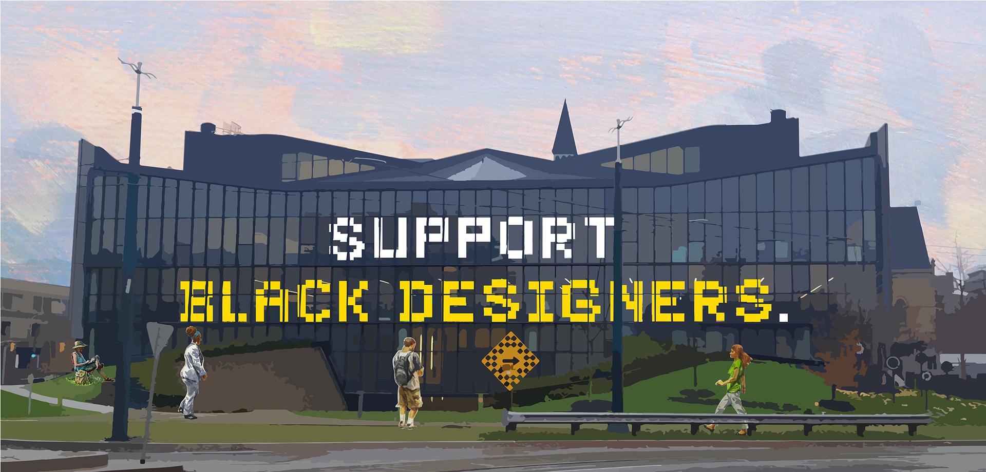 Support Black Designers.